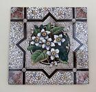 Vintage 6  Ceramic Victorian Tile LT Made in England