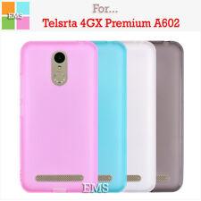 Soft TPU Gel Clear TPU Case Cover For Telstra 4GX Premium / ZTE Blade A602
