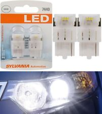 Sylvania Premium LED Light 7440 White 6000K Two Bulbs Front Turn Signal Replace