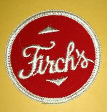 """Vintage Firch's Bread Bakery Embroidered Uniform Patch Defunct 2 1/2"""""""