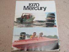 MERCURY Outboard MOTOR brochure catalog - Vintage 1970 BOOKLET TOWER OF POWER