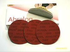 3 abralon pads 360, 500, 1000-2000-3000-4000 grits   U-PICK-EM