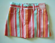 NWT Gymboree Tropical Garden Stripe Skort Skirt 3
