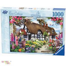 COUNTRY COTTAGE ROSE COTTAGE 1000 PIECE RAVENSBURGER JIGSAW