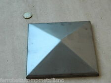 copripilastri tappo piantana quadra in ferro 120x120 grezzo fai da te EU.15058