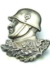 Pin Militaria soldato fantaccino! con acciaio CASCO ansteckpin in metallo Top # 391