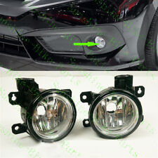 2x For Honda Civic 2016 Car Front Bumper FOG Light LAMPS Cover No BULBS Replace