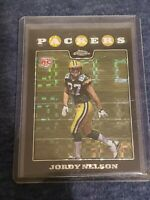Jordy Nelson 2008 Topps Chrome XFractor #TC207 Rookie RC Packers