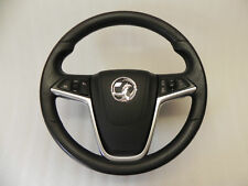 Opel Insignia Vauxhall Lederlenkrad Multifunktionslenkrad 3 Speichen 13316540