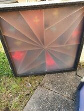 More details for pair of retro disco lighting screens 4 channel for mobile disco