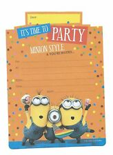 Despicable Me Minions Party Supplies Invitations 16 Sheets Inc Yellow Envelopes