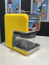 EXC! DeLonghi Discontinued Vintage kMix Yellow Coffee Maker