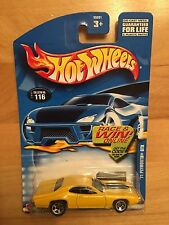 2002 Hot Wheels '71 Plymouth GTX #116 - Unopened MOC