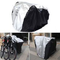 Waterproof Bicycle Cover Bike Sun/Rain/Snow/Dust Proof UV Protector For 3 Bikes