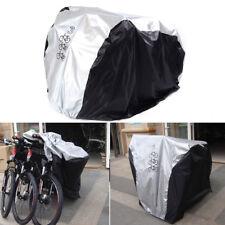 Waterproof Bicycle Cover Bike Sun/Rain/Snow/Dust Proof UV Protector For 3 Bikes
