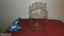 Bellco 15 Liters Carboy (spinner flask) with four-side-neck..Excellent