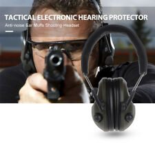 Electronic Hearing Protector 20dB Noise Reduction Ear Muffs Shooting Headset