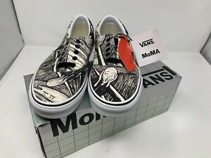 NEW Vans MOMA The Scream Edward Munch Era Men's Size 12