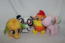 Ty Moshi Monsters Shi Shi, Mr Snoodle, Coolio & Angel - New With Tags