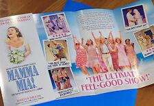 MAMMA MIA! - THE ABBA MUSICAL - NOVELLO THEATRE, LONDON – FLYER 2017