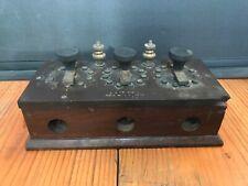 Antique 1900s C.P.C co San Francisco Resistance Box Scientific instrument device