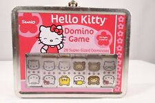"Sanrio ""Hello Kitty"" Edition Dominoes Game / Collector's Tin Lunch Box/Pre-Owned"