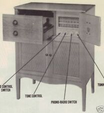 1948 GAROD 11FMP PHONO RADIO SERVICE MANUAL SCHEMATIC console PHOTOFACT am fm
