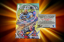 2015 SDCC Bloodstrike #1 Exclusive Variant - SIGNED BY ROB LIEFELD + COA