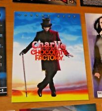 Charlie & Chocolate Factory Johnny Depp as Willy Wonka Bonus Chase Card T1 NM