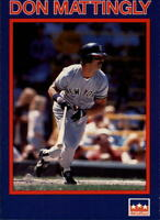 Lot Of 110 1990 Starline Long John Silver's Baseball Don Mattingly Card # 1