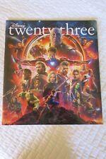 Disney Twenty-Three 23 Magazine Summer 2018 Avengers Infinity War New Rare