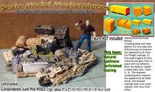 Junk Pile-Tools-Tanks Alley/Scrap Pile Scale Model Masterpieces HO Fine hbb03
