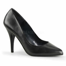 Leather Pumps, Classics Solid Medium (B, M) Women's Heels