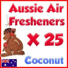 AIR FRESHENERS Coconut scent for your car- Lot of 25