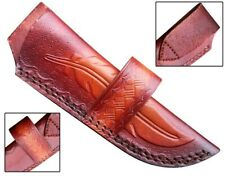 Handmade real leather  sheath pouch cover case holder for hunting knife new