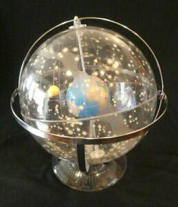 BRILLIANT 1950'S SPACE AGE T.N HUBBARD CELESTIAL GLOBE / ORRERY /TELLURIAN