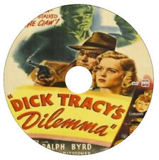 Dick Tracy's Dilemma - Action,Crime,Drama - Ralph Byrd, Lyle Latell - 1947 -DVD