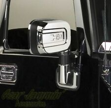 06-09 Hummer H2 Triple Chrome Plated Mirror Covers