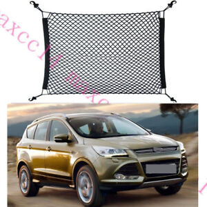 4 Hook 70 x 70cm Car Trunk Cargo Luggage Net Holder For Ford Kuga