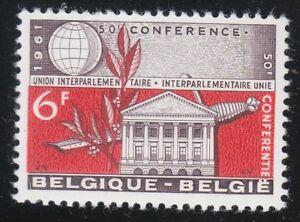 Belgium 1961 MNH Mi 1252 Sc 571 Senate Building,Brussels.Sword & laurel