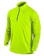 Nike Element Half Zip Volt Yellow Mens Xl