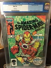 Amazing Spider-Man Annual #20 cgc 9.4 White Pages Iron Man 2020