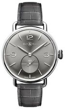 WW1-ARGENTIUM-RUTHENIUM | BRAND NEW BELL & ROSS VINTAGE WW1 41MM MENS WATCH