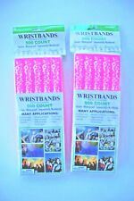 1,000 Count Amscan Wristbands Secure Waterproof Sequentially Numbered