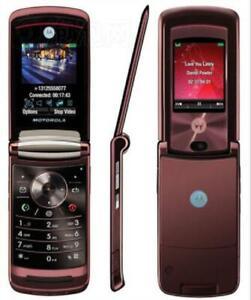 "Refurbished Original Motorola RAZR2 V9 2.2"" 3G Unlocked 2.0MP GSM Flip CellPhone"