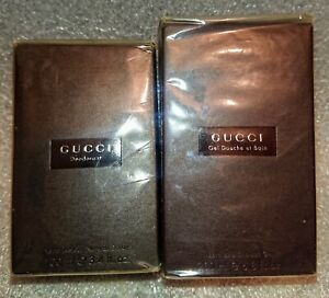 Gucci Classic For Women Perfumed Deodorant 100 ml + Bath And Shower Gel 200 ml