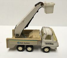 Mighty TONKA BELL SYSTEM Boom Crane Bucket Truck (c. 1970's) Vintage