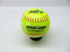 Rawlings Official League Softball 11'' Single Ball Yellow Fastpitch Slowpitch