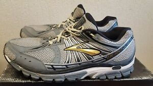 Brooks Beast Men's Grey Running Shoes Size UK 10