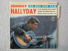 EP Single / Johnny Hallyday ‎– Da Dou Ron Ron / RARITÄT / 1963 / FRANCE PRESS /